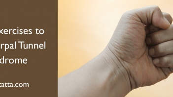 Three Exercise to Heal Carpal Tunnel Syndrome