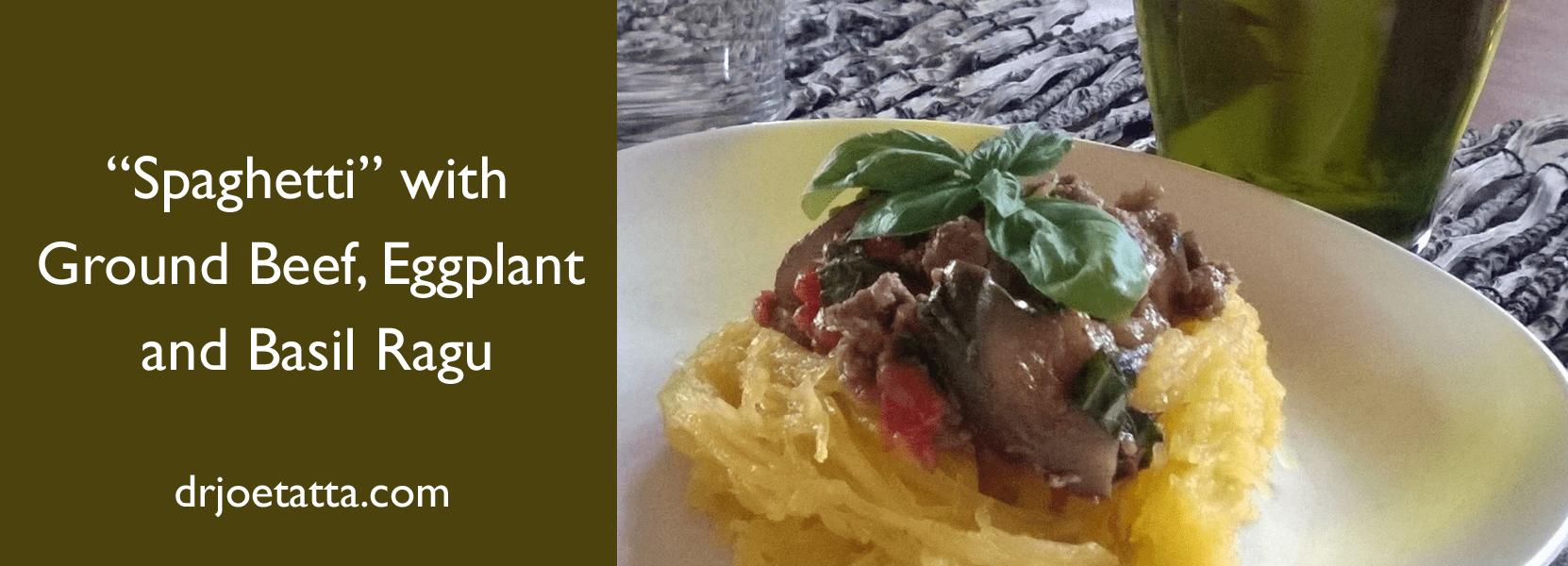 """Spaghetti"" With Ragu"