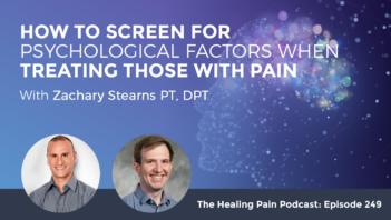 HPP 249 | Psychological Factors Of Pain